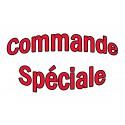 Commande spéciale