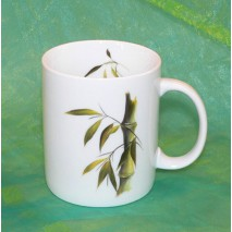 Mug décor bambou