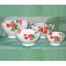 décor fraises