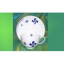 Déjeuner boule en porcelaine
