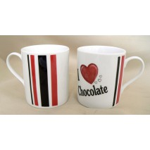 "mug empire décors""I LOVE CHOCOLATE"""