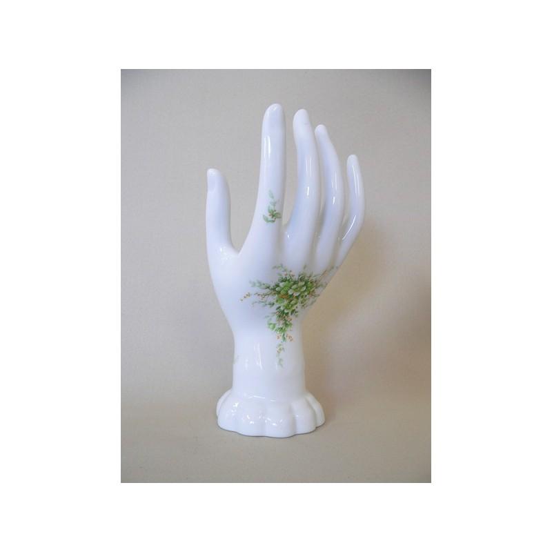 baguier en porcelaine décor vétivert