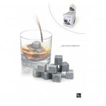 Set de 9 cubes réfrigérants en pierre