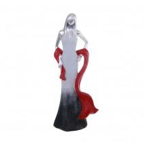 Statuette femme élégance