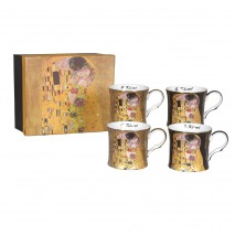 Ensemble 4 mugs G.Klimt