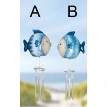 Carillon poisson bleu