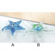 Etoiles de mer en verre