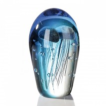 Grande sulfure méduses bleues