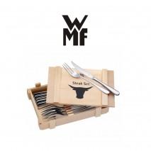 Coffret de 6 couteaux à steack et 6 fourchettes