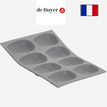Moule 8 madeleines en silicone
