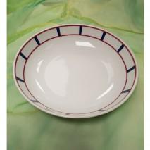 Assiette creuse calotte basque