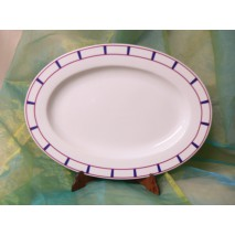 Plat ovale basque (grand)