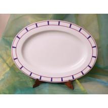 Plat ovale basque (moyen)