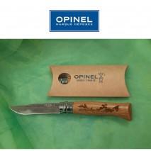 Couteau gravé Opinel