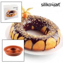 Moule à savarin ou Donuts géant Silikomart