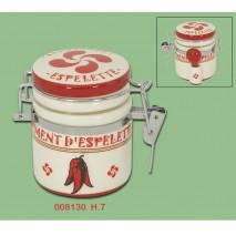 Petit pot Hermétique Piment d'Espelette