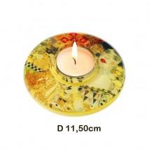 Bougeoir plat G.Klimt
