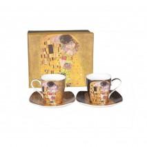 Coffret 2 tasses à café G.Klimt