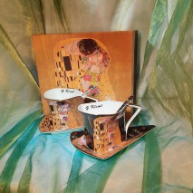 Coffret 2 tasses originales G.Klimt
