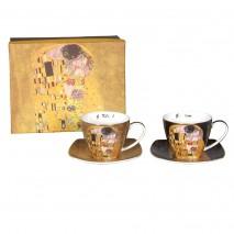 Ensemble 2 tasses à thé G.Klimt