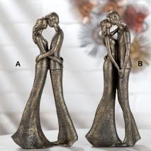 Statuette Couple bronze