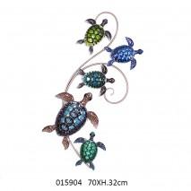 Décoration murale tortues
