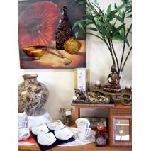 Thème Zen et pommier du Japon