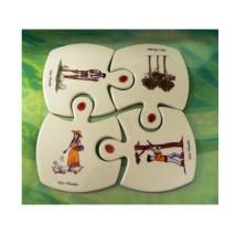 puzzle dessous de plat décors Landais