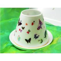 Photophore et petits papillons