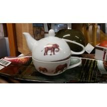 Solitaire ou égoïste décor elephant