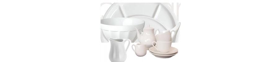 A vous de découvrir la porcelaine blanche provenant de Limoges, de Bavière ou de Chine.