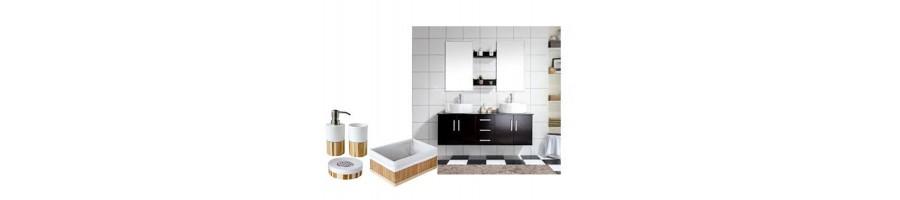 Retrouvez tous nos articles pour la salle de bains en porcelaine blanche ou décorés par nos soins