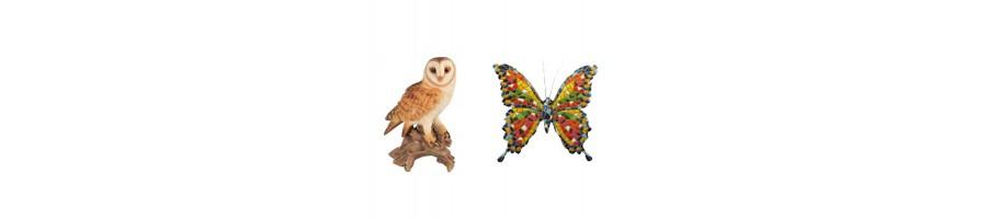 Hiboux, chouettes et papillons
