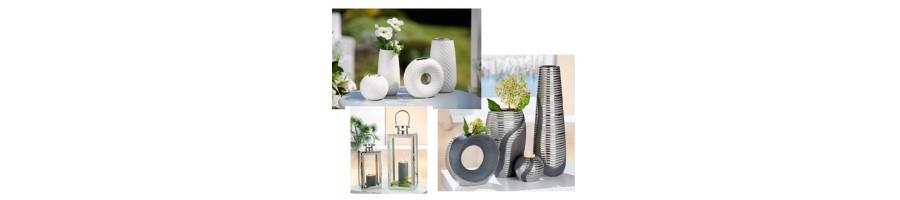 Vases, soliflores, cache pot, coupes et coupelles