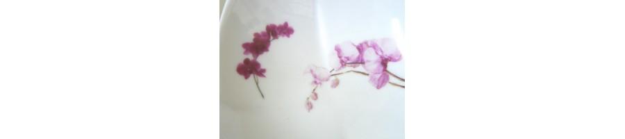 Décor Orchidée fushia