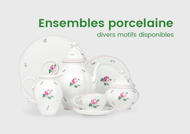 Ensemble porcelaine